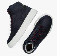 Blauwe RED-RAG Hoge sneaker 13537  - medium