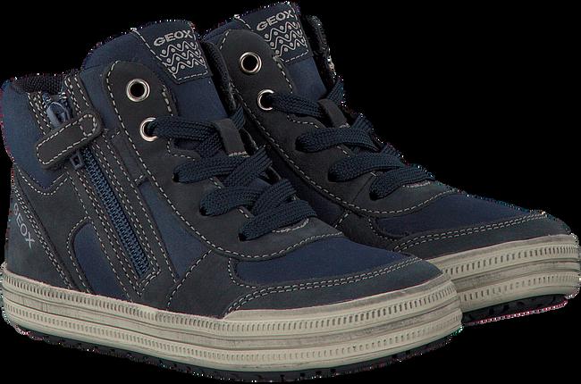 Blauwe GEOX Sneakers J64A4B  - large