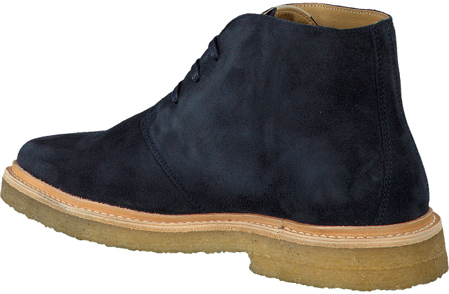 Blauwe NUBIKK Veterschoenen LOGAN DESERT MEN  - large
