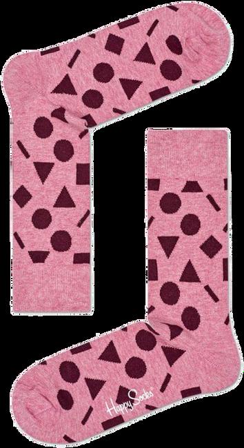 Roze HAPPY SOCKS Sokken PLAY - large