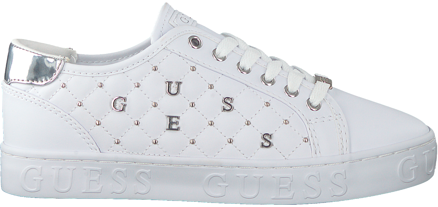 Witte GUESS Lage sneakers GLADISS Omoda.nl