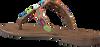 taupe LAZAMANI Slippers 75.554  - small