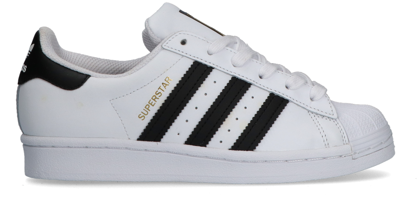 Witte ADIDAS Lage sneakers SUPERSTAR J  - larger