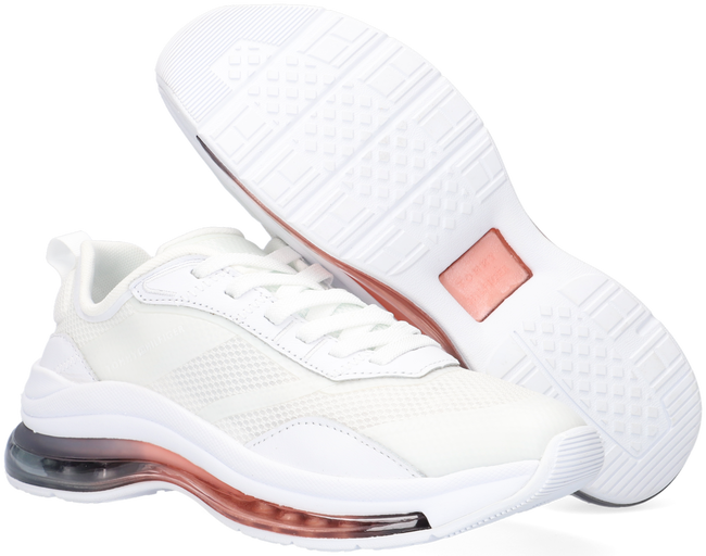 Witte TOMMY HILFIGER Lage sneakers CITY AIR RUNNER MIX  - large