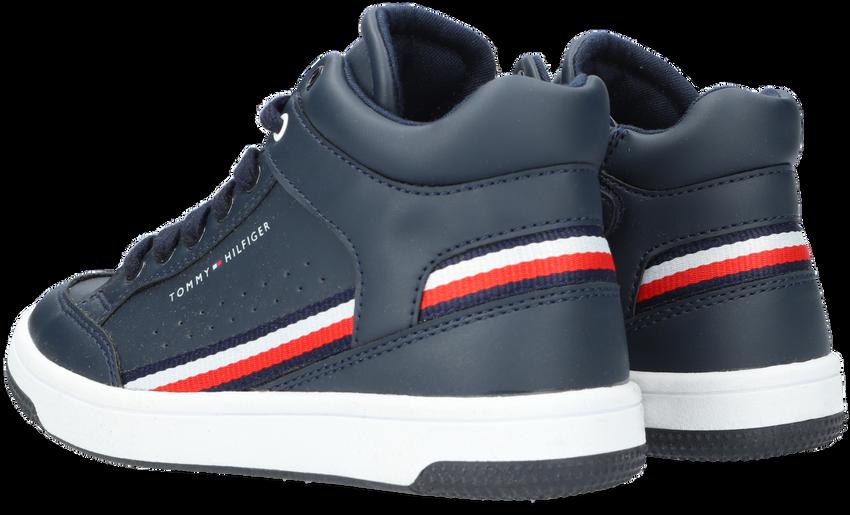 Blauwe TOMMY HILFIGER Hoge sneaker 32051  - larger