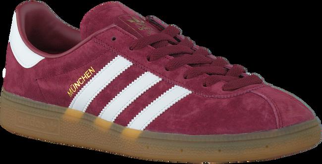 Rode ADIDAS Sneakers MUNCHEN HEREN  - large