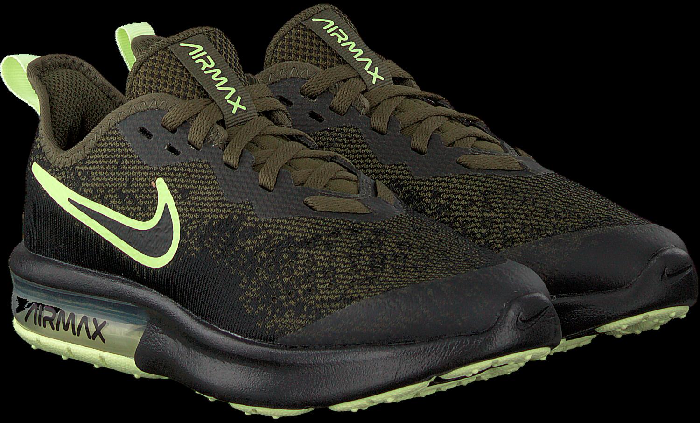 Groene NIKE Sneakers AIR MAX SEQUENT 4 | Omoda