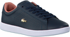 Blauwe LACOSTE Sneakers CARNABY EVO DAMES  - small