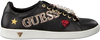 Zwarte GUESS Sneakers FLSPE1 LEA12 - small