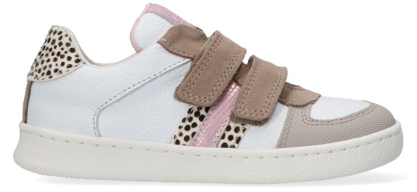 Witte CLIC! Lage sneakers CL-20341  - larger