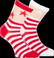 Rode MARCMARCS Sokken CATHARINA - medium