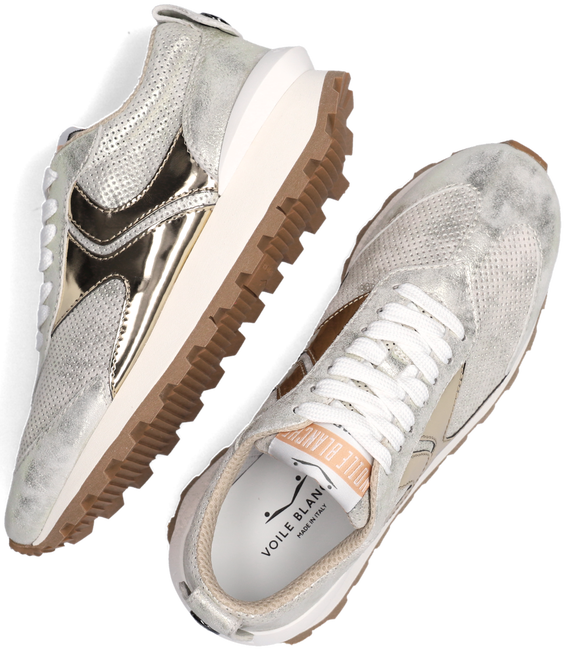 Gouden VOILE BLANCHE Lage sneakers QWARK WOMAN  - large