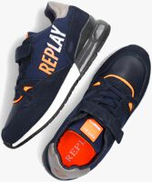 Blauwe REPLAY Lage sneakers COULBY  - medium
