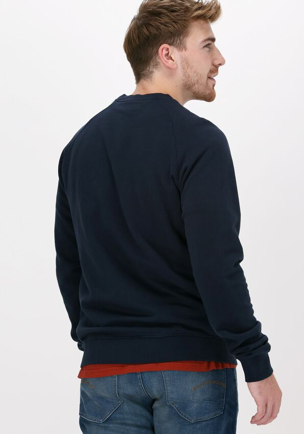 Donkerblauwe FORÉT Sweater BAIT SWEATSHIRT - larger