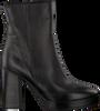 Zwarte VERTON Enkellaarsjes 668010  - small