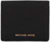 Zwarte MICHAEL KORS Portemonnee FLAP CARD HOLDER - small