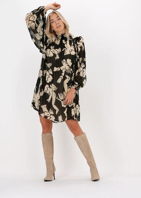 Zwarte OTTOD'AME Midi jurk ABITO  - large