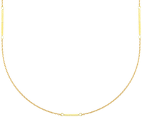 Gouden JEWELLERY BY SOPHIE Ketting LONG NECKLACE - medium