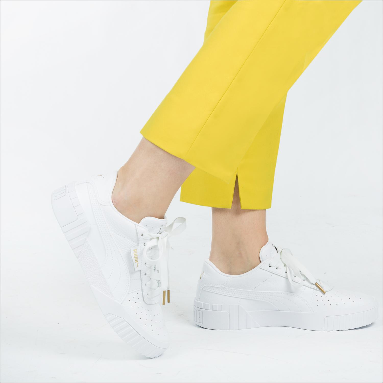 Witte PUMA Sneakers CALI | Omoda