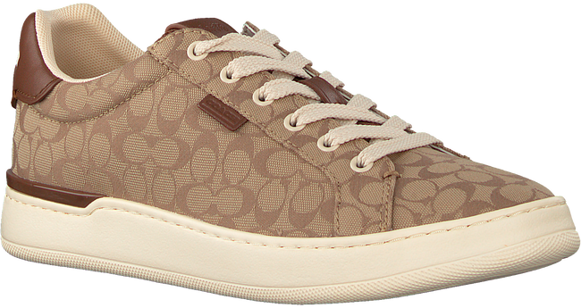 Bruine COACH Lage sneakers ADB SIG JACQUARD LOW TOP  - large