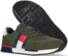 Groene TOMMY HILFIGER Lage sneakers LOW CUT LACE-UP T3B4-30482 - small