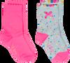 Roze LE BIG Sokken JARA SOCK 2-PACK - small