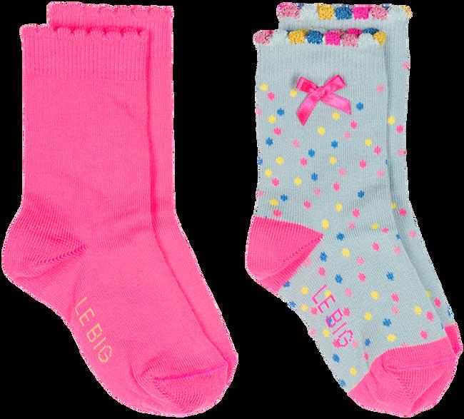 Roze LE BIG Sokken JARA SOCK 2-PACK - large