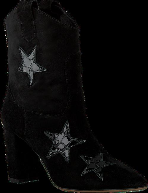 Zwarte FABIENNE CHAPOT Enkellaarsjes HUGO STAR BOOT  - large