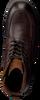 Bruine MAZZELTOV Veterschoenen MBOSS602.22OMO1  - small