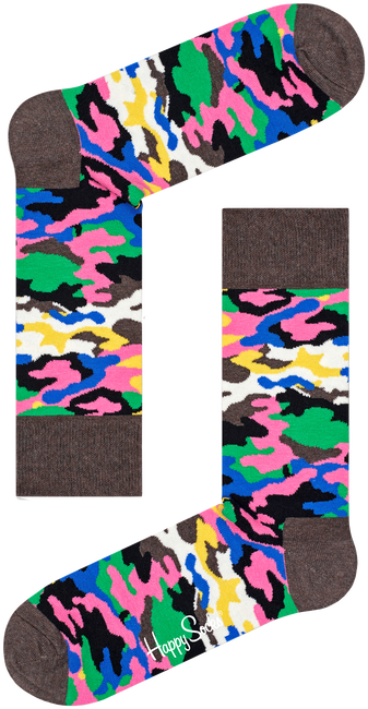 Multi HAPPY SOCKS Sjaal BARK - large