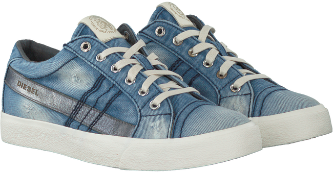 Blauwe DIESEL Sneakers D-STRING LOW W  - large