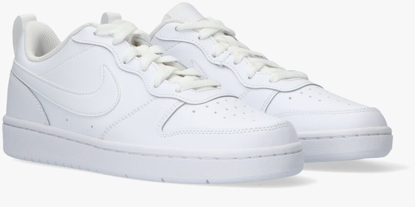 Witte NIKE Lage sneakers COURT BOROUGH LOW 2 (GS)  - larger