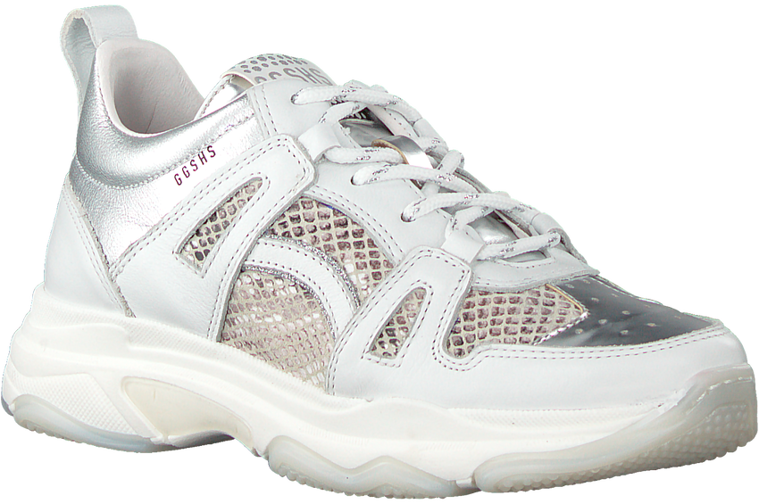 Witte GIGA Lage sneakers G3371  - larger