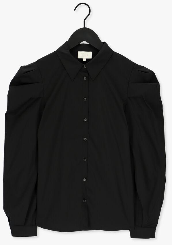 Zwarte MINUS Blouse ELAYNA LONG SLEEVE SHIRT - larger