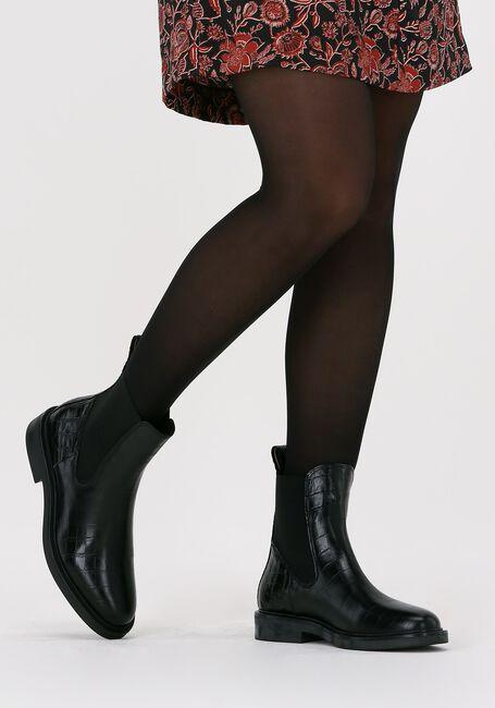 Zwarte SCOTCH & SODA Chelsea boots HAILEY BOOT  - large