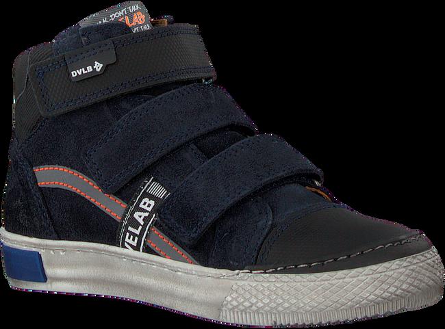 Blauwe DEVELAB Hoge sneaker 41785  - large