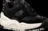 Zwarte UGG Lage sneakers WOMENS LA HILLS TRAINER - small