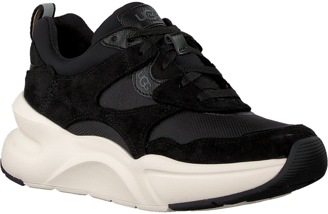Zwarte UGG Lage sneakers WOMENS LA HILLS TRAINER - large
