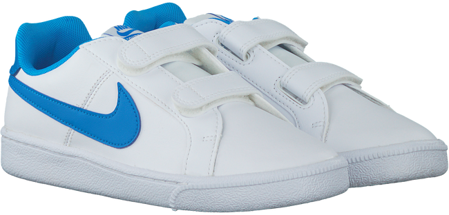Witte NIKE Sneakers COURT ROYALE  - large
