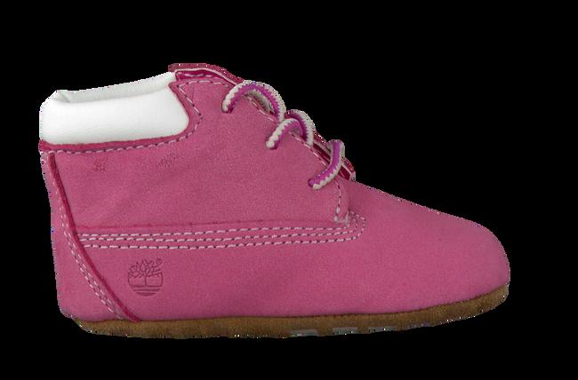 Roze TIMBERLAND Babyschoenen CRIB BOOTIE W/HAT  - large
