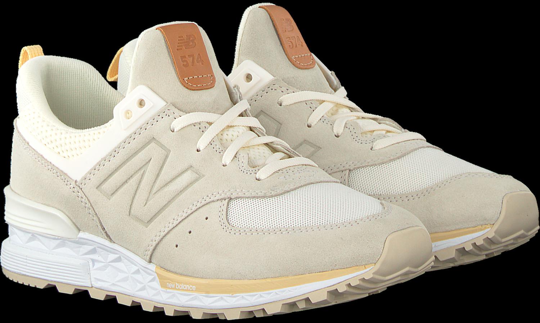7b3ebbcec08 Witte NEW BALANCE Sneakers WS574 WMN - Omoda.nl
