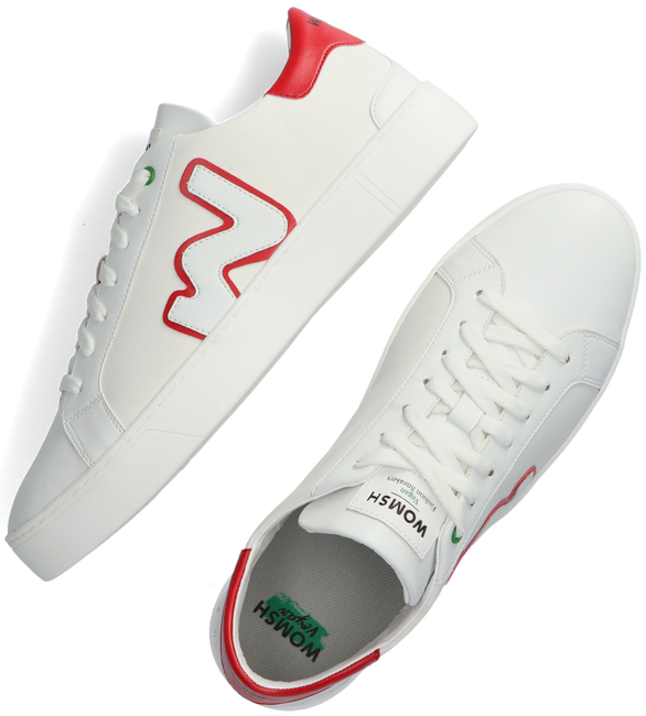 Witte WOMSH Lage sneakers VEGAN SNIK  - large
