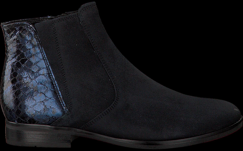 blauwe gabor chelsea boots 660. Black Bedroom Furniture Sets. Home Design Ideas