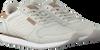Grijze WODEN Lage sneakers YDUN CROCO  - small