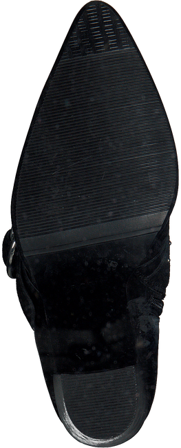 Zwarte BRONX Enkellaarsjes 33973A - large