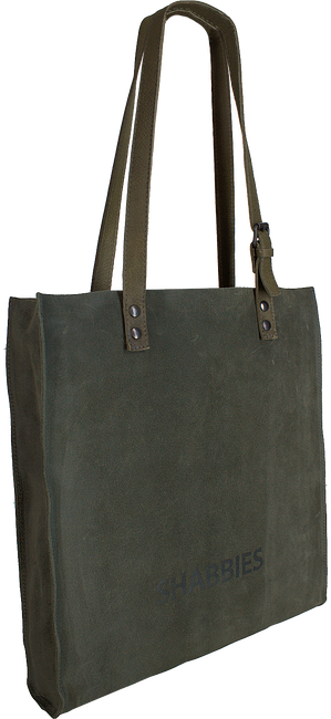 Groene SHABBIES Shopper 282020012 - large