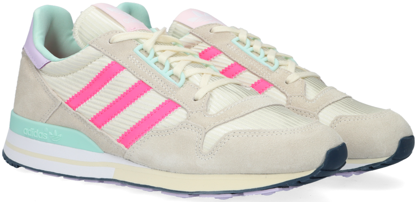Grijze ADIDAS Lage sneakers ZX 500 W  - larger