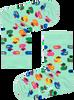 Groene HAPPY SOCKS Sokken KIDS RUBBER DUCK SOCK  - small