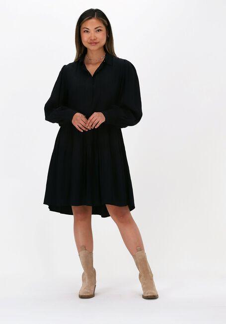 Zwarte Y.A.S. Mini jurk YASOLLY LS DRESS  - large