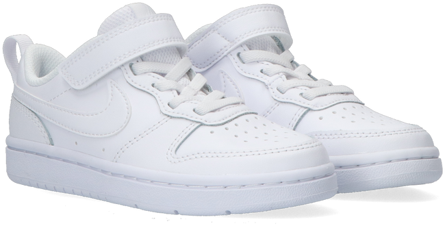 Witte NIKE Lage sneakers COURT BOROUGH LOW 2 (PS)  - large